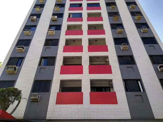 Apartamento Com 2 Dorms, Itararé, São Vicente - R$ 320 Mil, Cod: 3250 - V3250