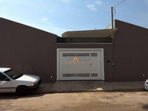 Imagem 1 de 11 de Casa Residencial À Venda, Jardim Dona Regina Picelli, Rio Claro - Ca0125. - Ca0125