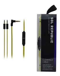 Cable De Conversacion Sol Republic Pistas V8 V10 Ultra V12 T