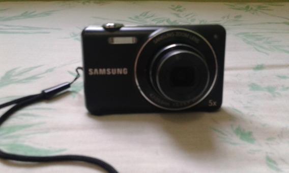 Câmera Fotográfica Samsung 16.1 Filmagens Em Hd Cartão De 4g