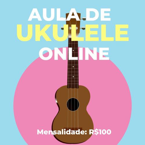 Imagem 1 de 1 de Aula De Ukulele Online Particular