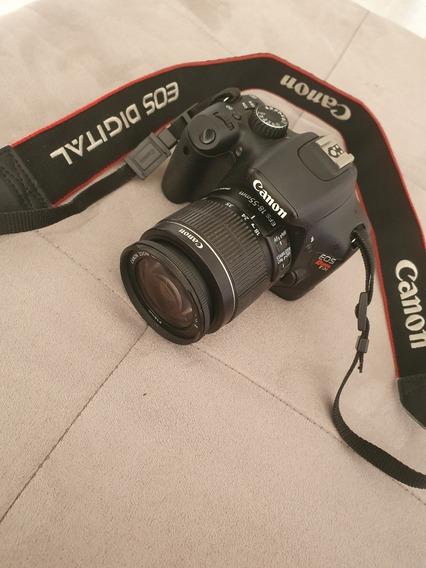 Câmera Canon T2i Seminova Perfeita + Lente 18-55mm Impecável