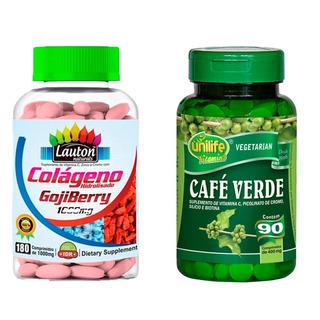 Colágeno Com Goji Berry 180 + Café Verde - 90 Comprimidos