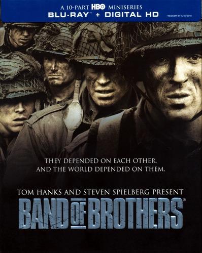 Band Of Brothers - Miniserie En Blu-ray, Nueva Y Original
