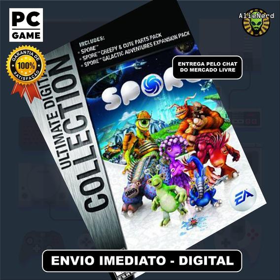 Spore Ultimate Digital Collection - Pc - Digital - Português