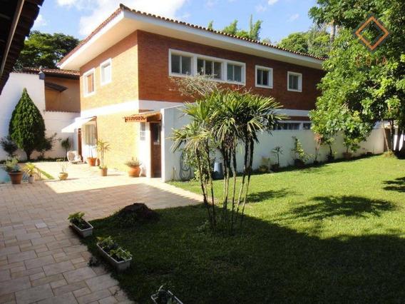 Belíssimo Sobrado Com 6 Dormitórios À Venda, 450 M² Por R$ 2.600.000 - Morumbi - São Paulo/sp - So7334