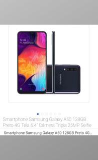 Celular Samsung A50 Novo Com Nota Fiscal Na Caixa.. Só 1,300