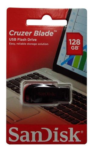 Pendrive Sandisk 128gb Cruzer Blade 128 Gb 2.0 Original Sell