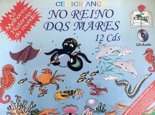 Imagem 1 de 1 de Box Infantil No Reino Dos Mares 12 Cds Original + Brinde