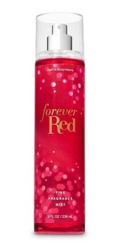 Bath & Body Works Forever Red Fine Fragrância 236 Ml U S A