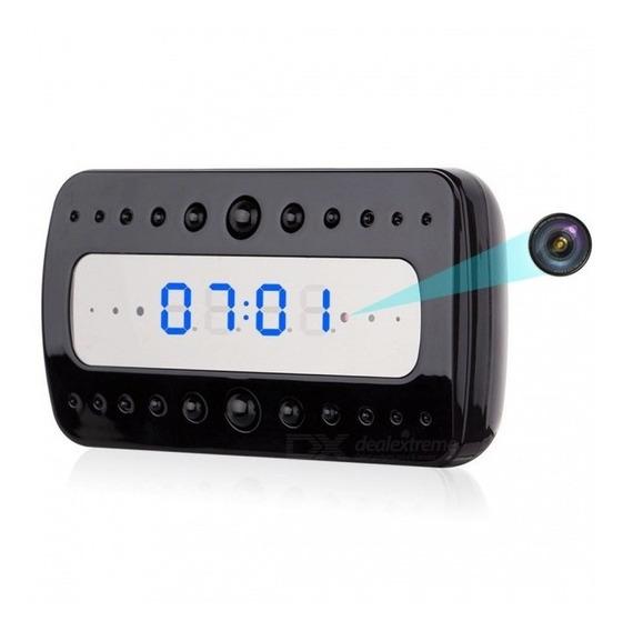 Wi-fi Câmera Escondida Despertador