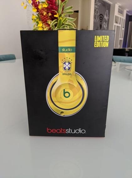 Fone Beats Studio 2 - Edição Limitida Cbf - 1 Ano Garantia