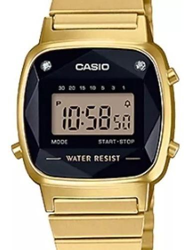Relógio Casio Retro La670 Diamante Original Nf Frete Gratis