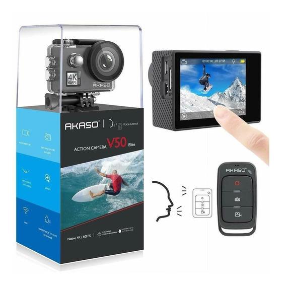 Camera Akaso V50 Elite Ultra Hd 4k/60fps 20mp Pronta Entreg