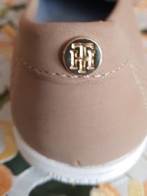 Zapato Casual Mujer Nuevo 5mx Tommy Hilfiger. $1500 Cafekaki
