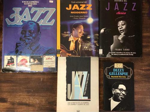 Imagen 1 de 3 de Lote Enciclopedia Ilustraddel Jazz Gillespie Historia  Guía