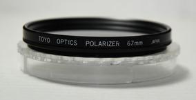 Filtro Polarizador 67mm Toyo Optics