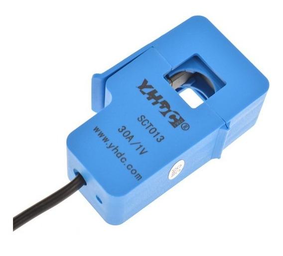Sensor De Corrente Ac 30a Não Invasivo Sct-013-030 Arduino