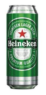 Pack X 24 Latas De Cerveza Heineken 473 Ml