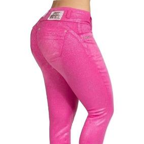 Calça Pit Bull Pitbull Pit Bul Jeans Original Rosa 27938