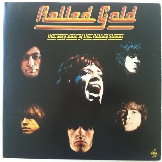 Vinilo Rolled Gold The Rolling Stones Made In Germany 1975