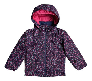 Campera Nena Mini Jetty Roxy Impermeable Ski Snow Urbana