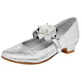 4f453af9 Zapatos De Plataforma Plateados Mocasines Ninas - Zapatos Blanco en ...