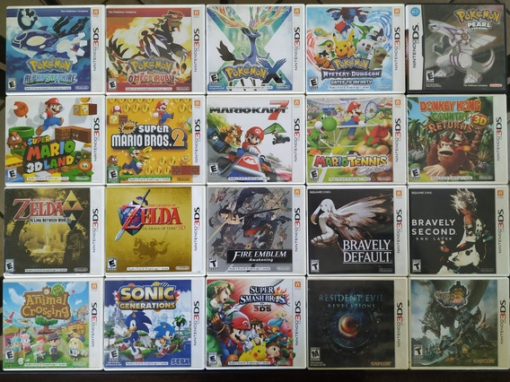 Jogos Nintendo 3ds E Nintendo Ds