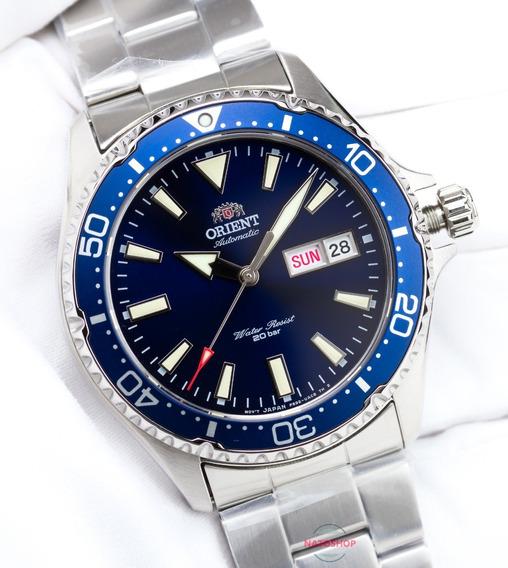 Relógio Orient Automático Mako 3 Azul
