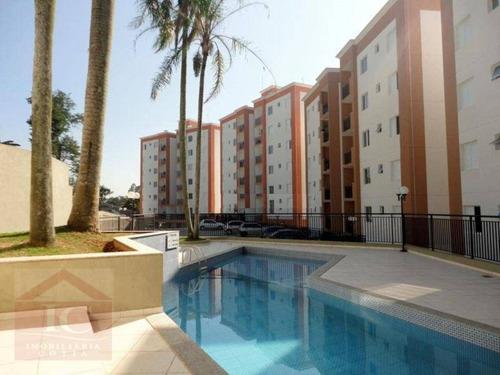 Apartamento Com 2 Dormitórios À Venda, 90 M² Por R$ 380.000,00 - Jardim Sabiá - Cotia/sp - Ap0463