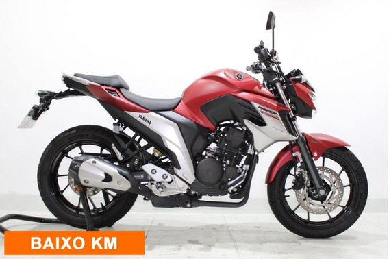 Yamaha Fz25 Fazer Abs 2019 Vermelha