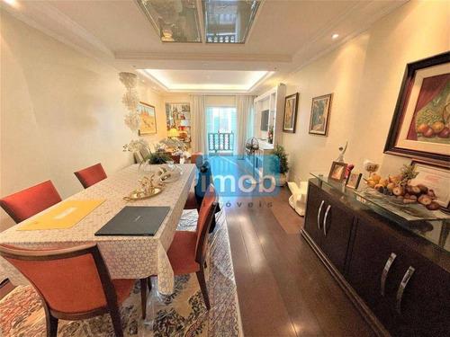 Imagem 1 de 27 de Apartamento Com 3 Dormitórios À Venda, 176 M² Por R$ 900.000,00 - Gonzaga - Santos/sp - Ap8050