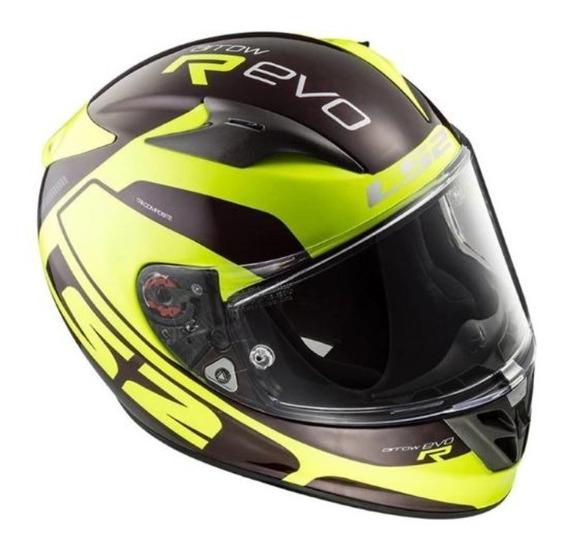 Capacete Ls2 Ff323 Arrow R Evo Hpfc- Fibra De Carbono Moto