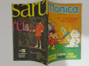 Mônica 12 - Editora Abril - Abril De 1971