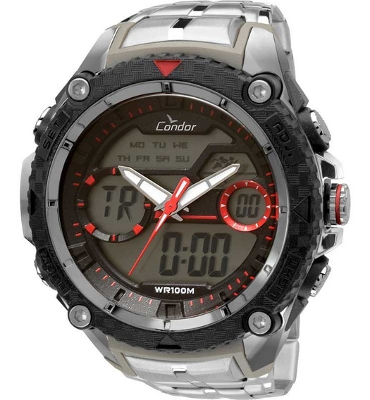 Relógio Condor Masculino Anadigi Coad1146aa/3r