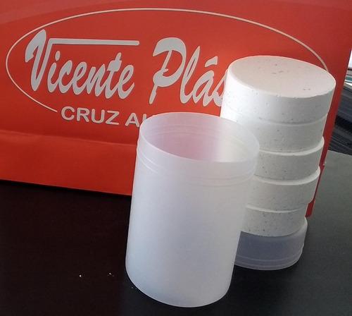 Imagen 1 de 1 de Pastillas Triple Acción Nataclor Tubo X 1 Kilo