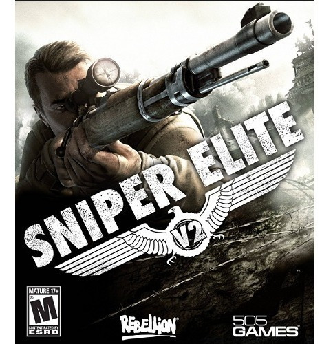 Sniper Elite V2 Pc - Dvd + 1 Jogo (midia Fisica)