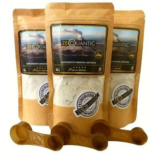 Detox Completo Kit Zeolita Premium P/ 3 Meses Potencializada