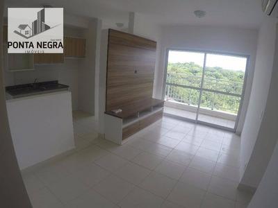 Apto Residencial Semi Mobiliado Para Locação, Ponta Negra, Manaus. - Codigo: Ap0079 - Ap0079