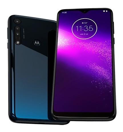 Motorola One Macro Libre 13mp+2mp 4/64gb Gtia Ofi Cuotas!