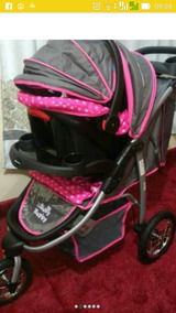 Carrinho De Bebê 3 Rodas De Luxo Passeio Da Marca Baby Happy