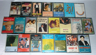 Cassettes De Audio - Originales - Impecables - Vintage