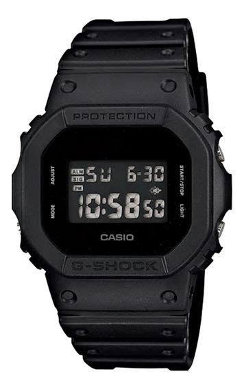 Relógio Casio Masculino Dw-5600bb-1dr Preto - Refinado
