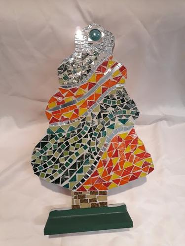 Imagen 1 de 2 de Arbol De Navidad Decorativo Mosaiquismo