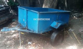 Remolque Trailer Carrucha Zorra 151cm Largo / 111cm / 56cm