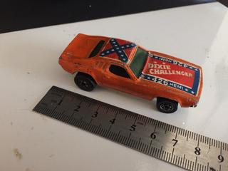 General Lee Hot Wheels Automodelo Dixie Dodge Challenger