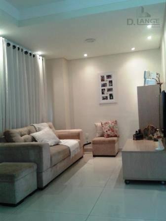 Casa Com 3 Dormitórios À Venda, 77 M² Por R$ 510.000,00 - Parque Imperador - Campinas/sp - Ca9143