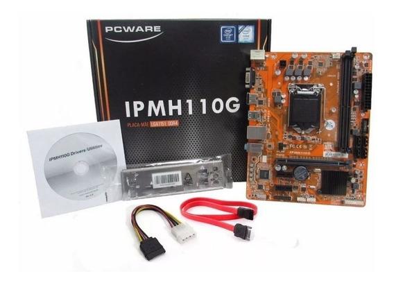 Kit Intel 1151 Gamer Pentium G4500 Ipm H110g 4gb Ddr4 S/juos