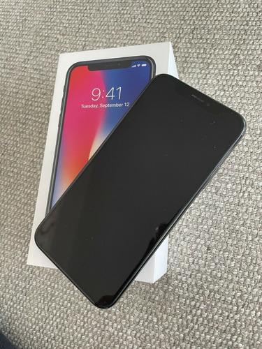 Apple iPhone X 256 Gb Gris Espacial (desbloqueado) Nuevo Bar