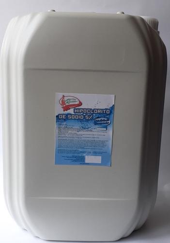 Hipoclorito De Sodio 5% Garrafa Por 20 - L a $2900
